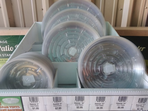 Saucer - Plastic