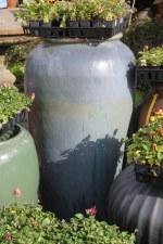 Rustic Glazed Planters