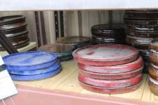 Rustic Glazed Saucers